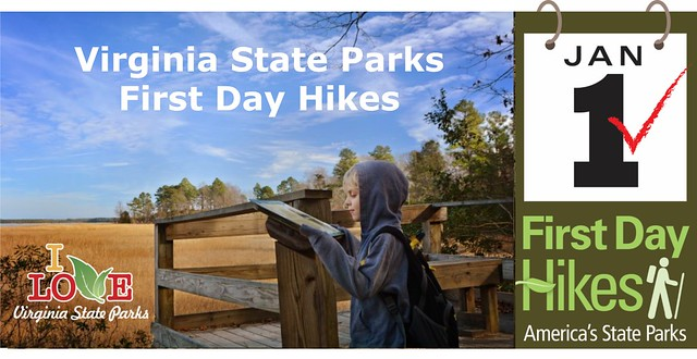 Virginia State Parks First Day Hikes