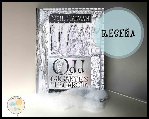 Ficha libro Odd y los gigantes de escarcha. Reseña