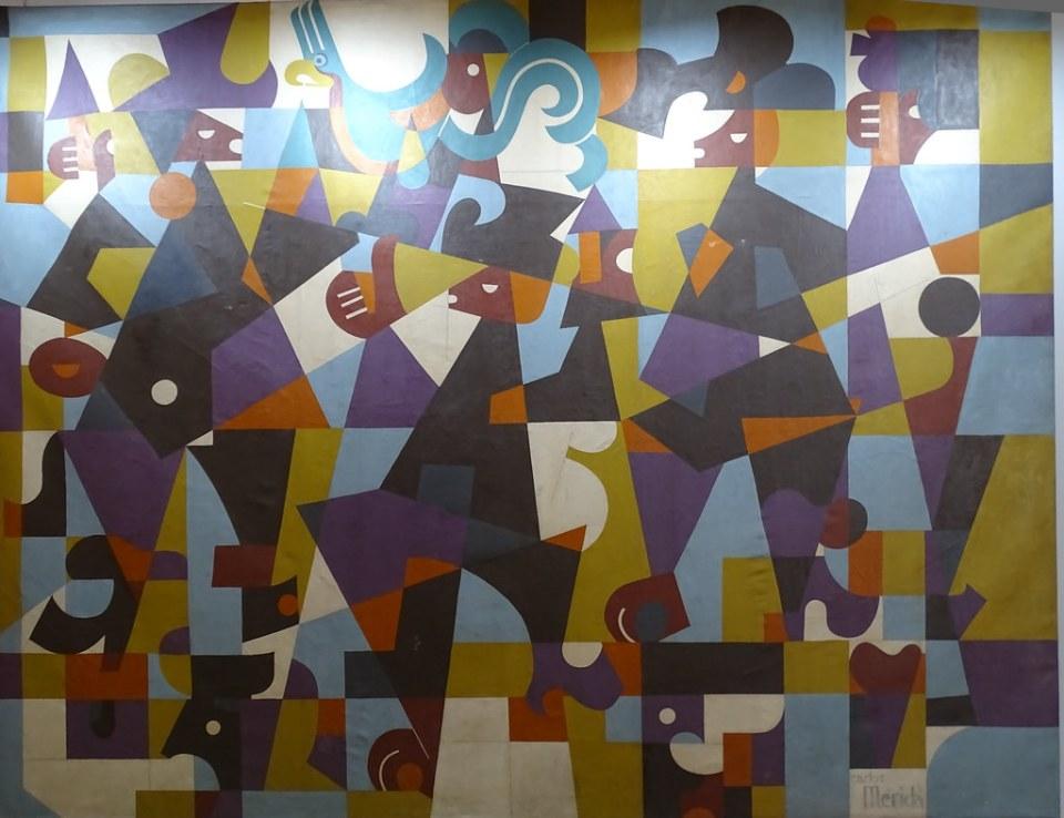 Carlos Merida pintura moderna Museo Nacional de Arte Moderno Ciudad de Guatemala