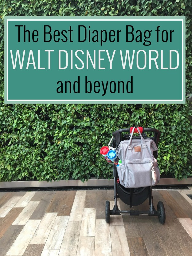 Best Diaper Bag for Disney Parks