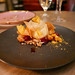 Satsuma Mandarin Sherbet, walnut financier, cranberries, crispy brown butter tuiles, maple toffee ($9)