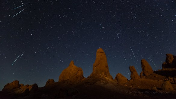 Geminid Meteor Shower 2010, Canon 5D Mark II