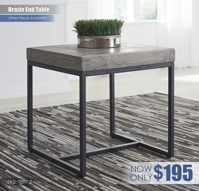 Brazin End Table_T897-2