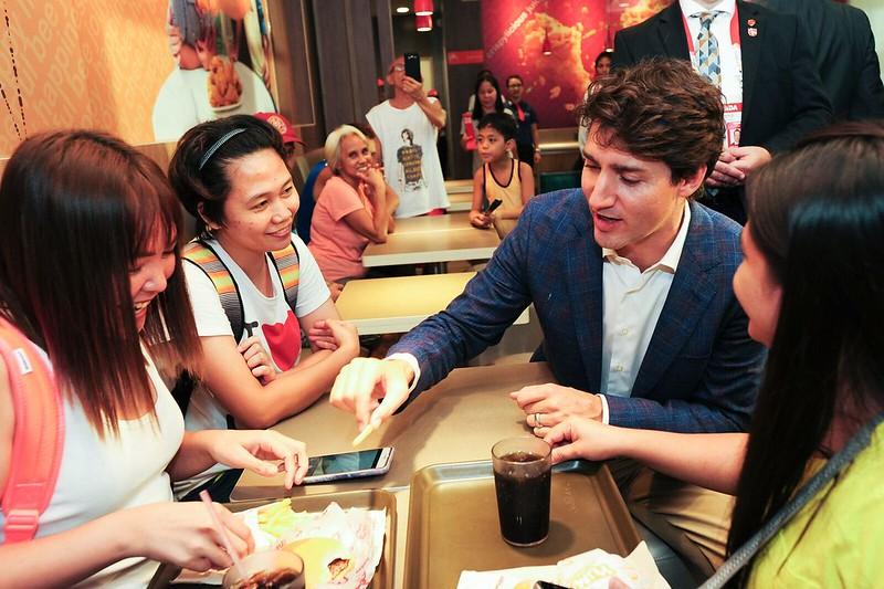 PM Trudeau at JB 10