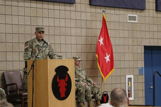 Iowa Red Bull takes command of 34th Infantry Division
