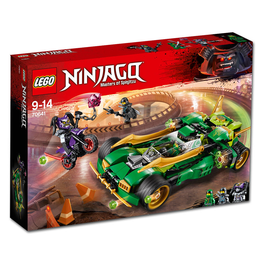 70641 - Ninja Nightcrawler - box art