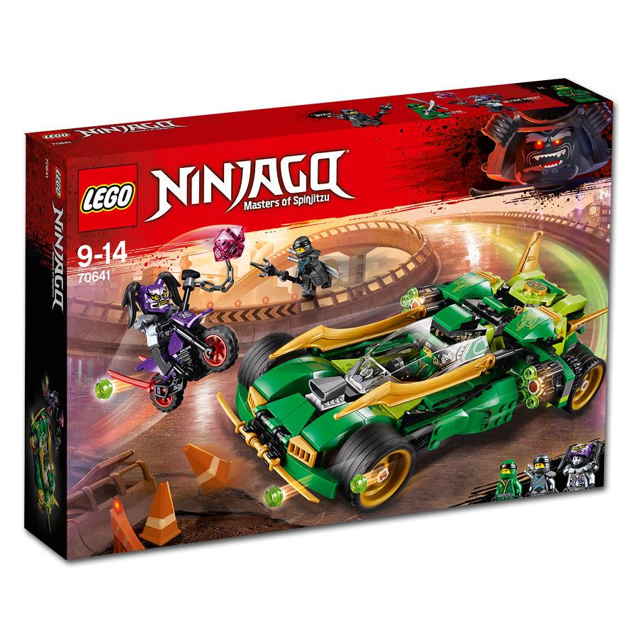 70641 - Ninja Nightcrawler - box art
