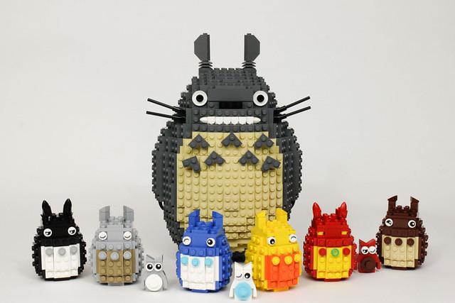 Totoro's friends