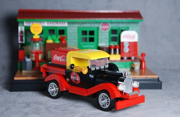 Classic Coke Delivery Truck