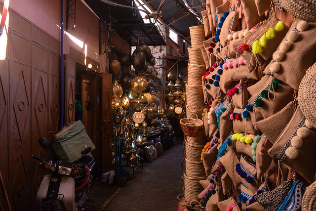 Lamps, Bags, and Baskets