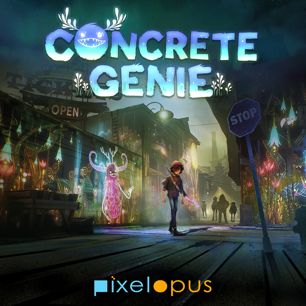 7 ways colourful PS4 exclusive Concrete Genie will put a smile on your face  PlayStationBlog
