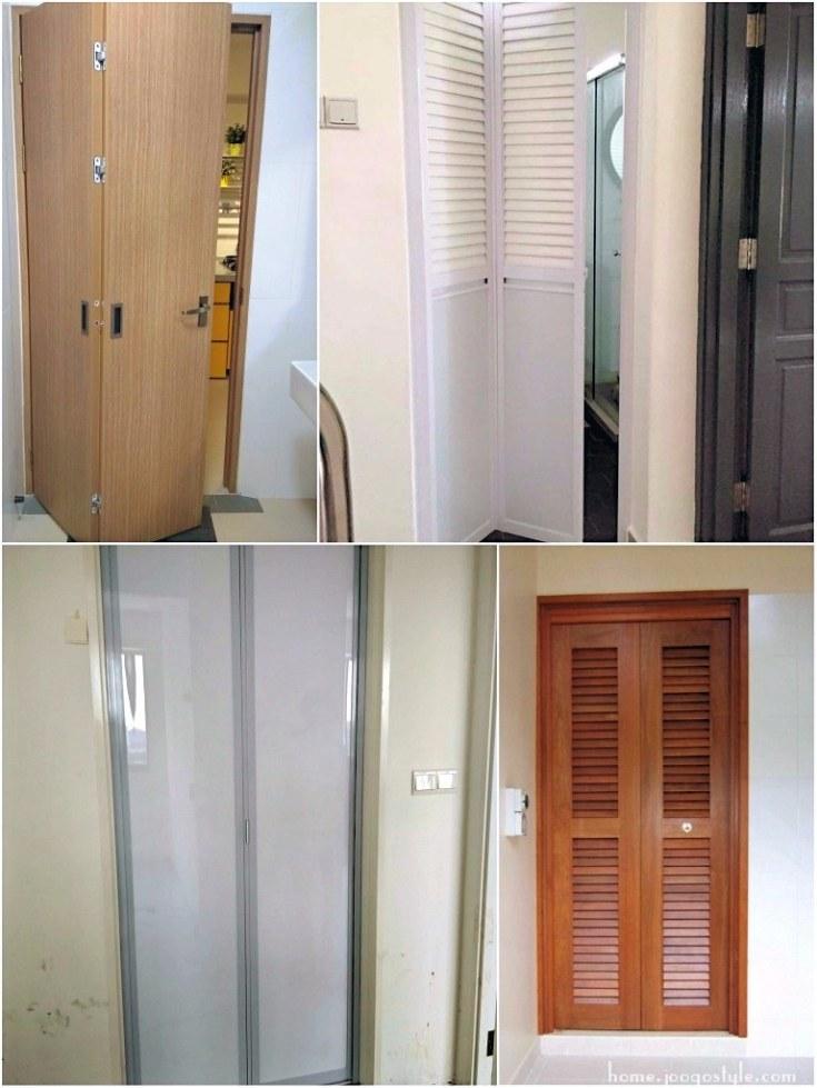 Toilet Doors In Singapore Bi Fold Doors Joogo Home