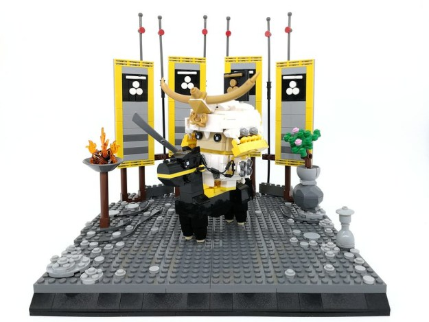 Brickheadz Samurai Imagawa Yoshimoto