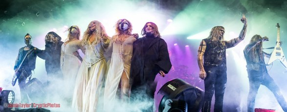American alternative metal band In This Moment at The Commodore Ballroom in Vancouver, BC on November 2nd 2017