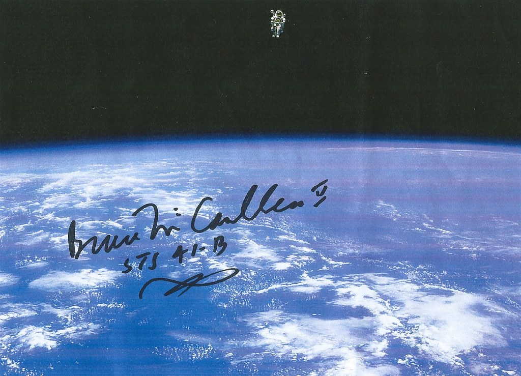 signature Bruce Mc Candless II