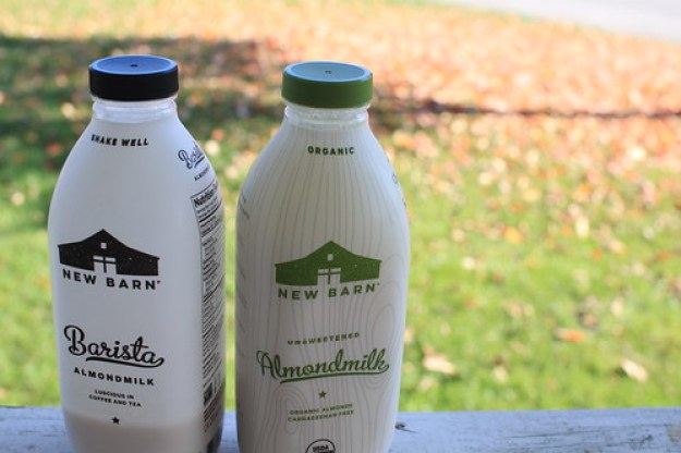 New Barn Actually Carries A Few Different Products Besides The Unsweetened Almondmilk Like Original Vanilla Barista And