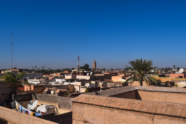 Kasbah Rooftop with Koutoubia