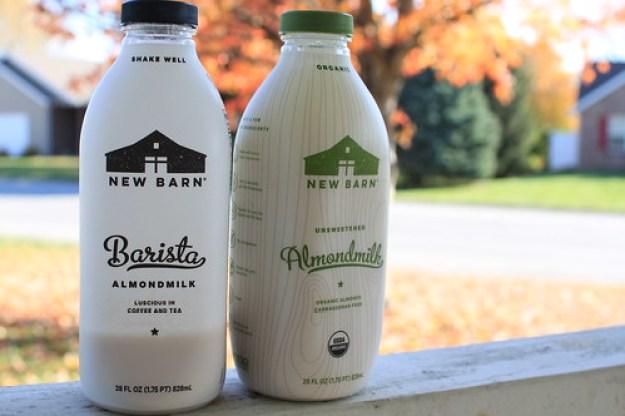 Staying Lactose Free With New Barn Organic Unsweetened Almondmilk