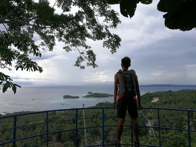 Samal Island Viewdeck back