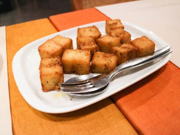 Maíz frito en Madeira