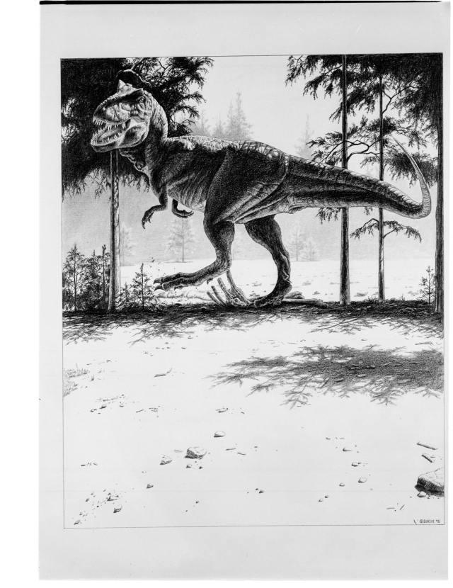 T rex John Gurche 01