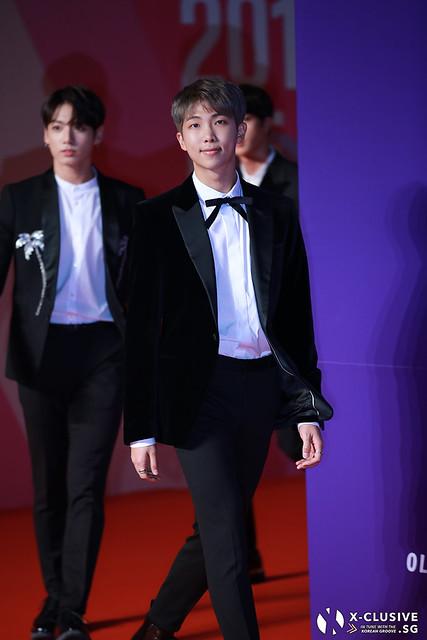 Rap Monster (Kim Namjoon) of BTS at 2017 MAMA in Hong Kong