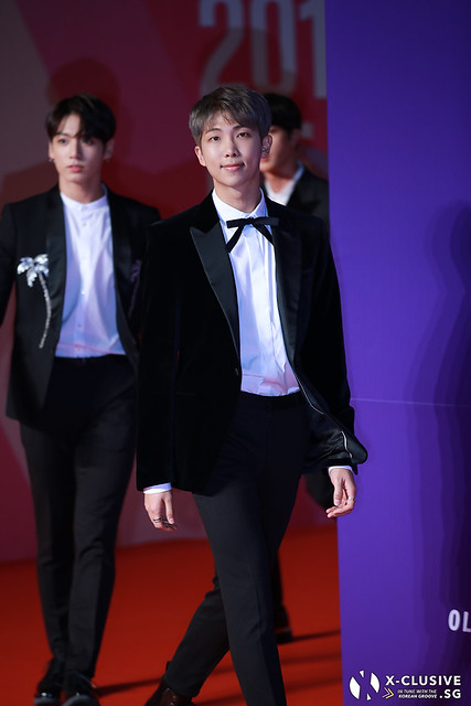 Rap Monster (Kim Namjoon) of BTS at 2017 MAMA in Hong Kong