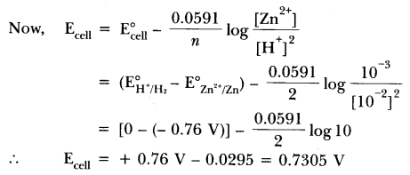 Important Questions for CBSE Class 12 Chemistry - Electrochemistry