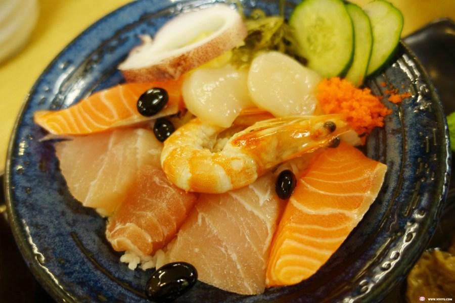 [台北美食]三禾田和風小館~晴光市場附近的平價日式料理.餐點種類多樣海鮮食材新鮮 @VIVIYU小世界