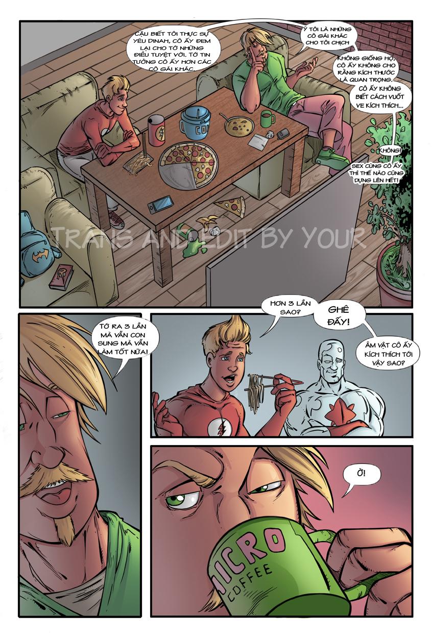 Hình ảnh  in Hentai Comic Superman xxx Black Canary