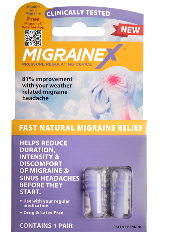 Drug-Free Remedy for Weather Related Migraines