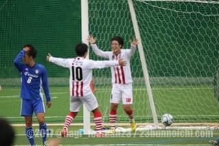 2017/10/14 全社1回戦 東京23FC vs 環太平洋大学FC