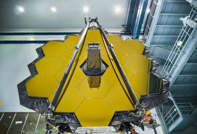 Throwback: NASA Completes Webb Telescope Center of Curvature Pre-test