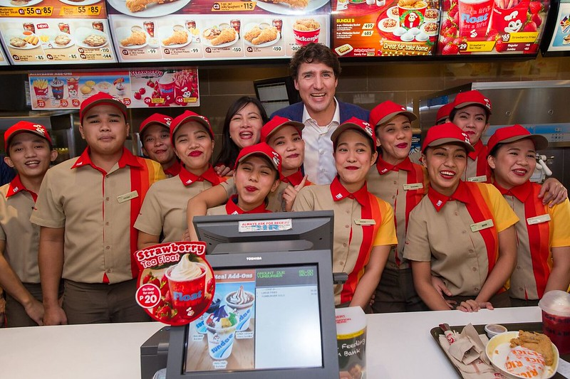 PM Trudeau at JB 1
