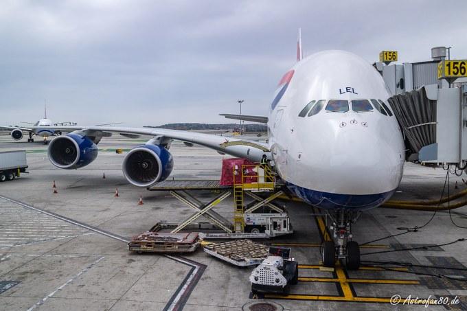 Home Flight (BA Airbus A380)