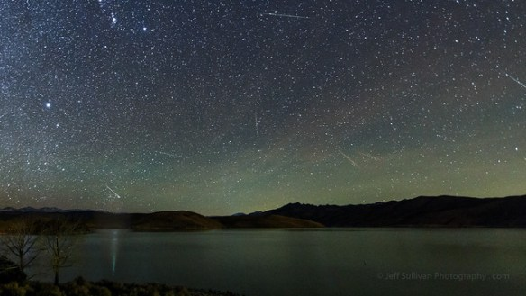 Leonid Meteor Shower at Topaz Lake