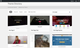 WordPress.org Theme Directory screen shot