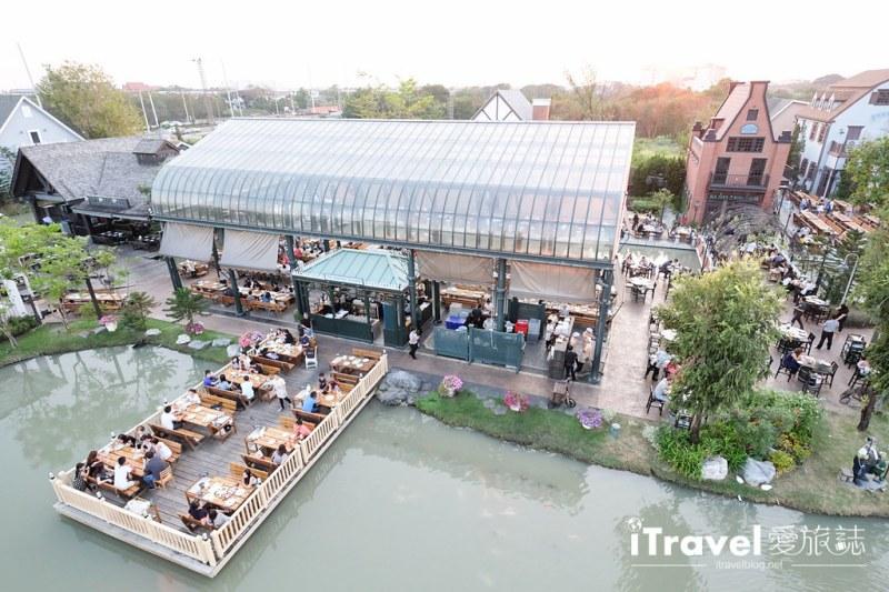 《曼谷景觀餐廳》巧克力莊園:免費入場參觀的拍照打卡勝地
