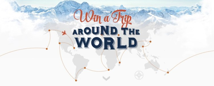 Win an $18,000 Trip Around The World!