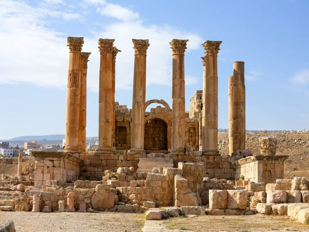 Templo en Jerash