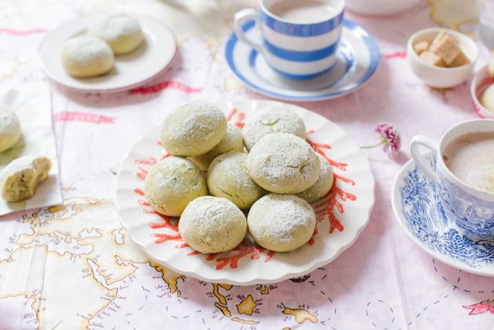 Matcha Cloud Cookies