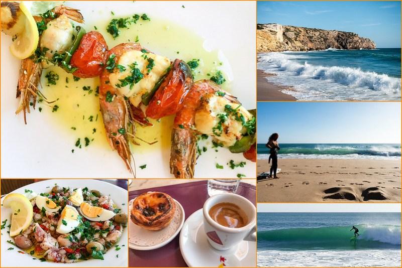 Restaurant und Meer