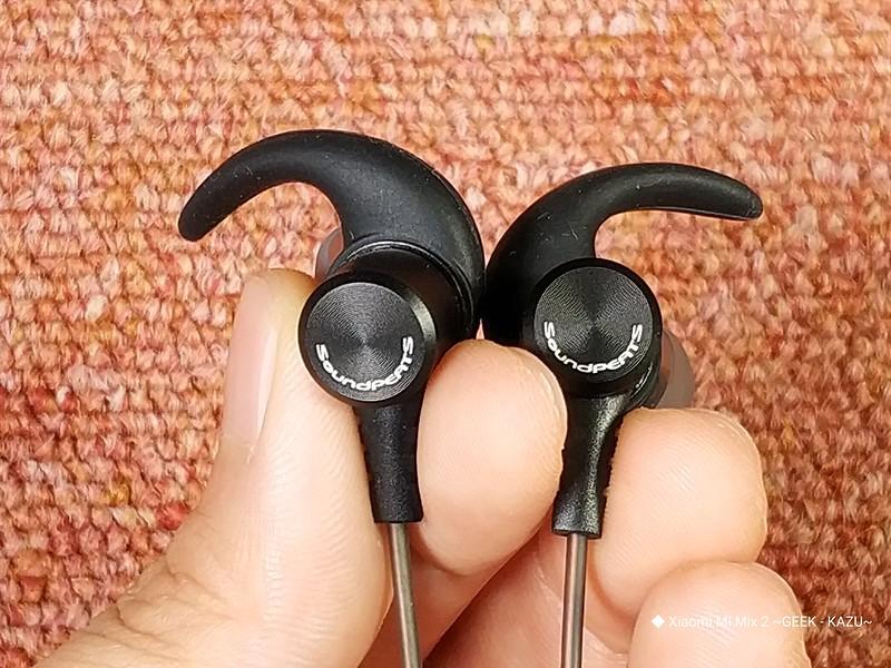 SoundPEATS( サウンドピーツ) イヤホン、B50 開封レビュー (14)