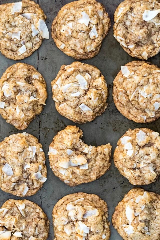 triple coconut cookies