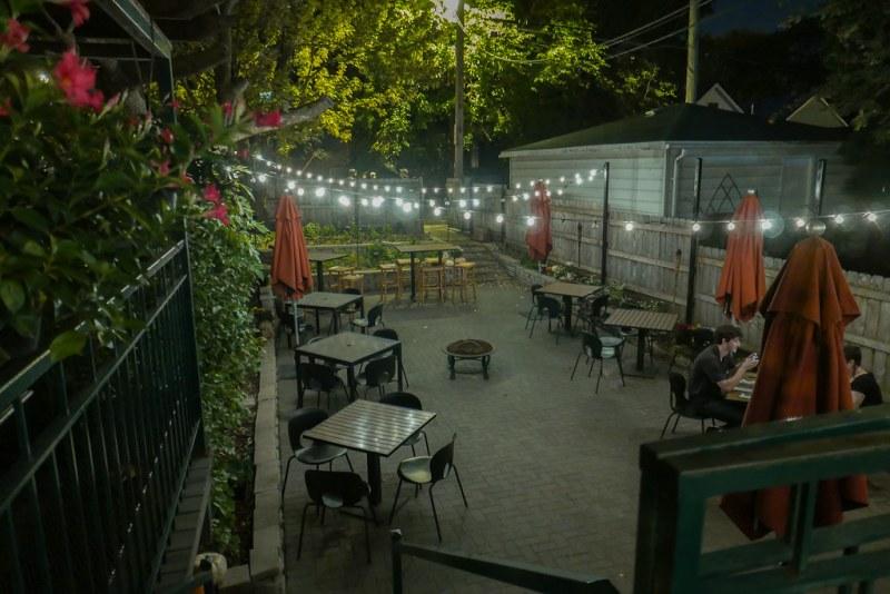 Duck Inn patio