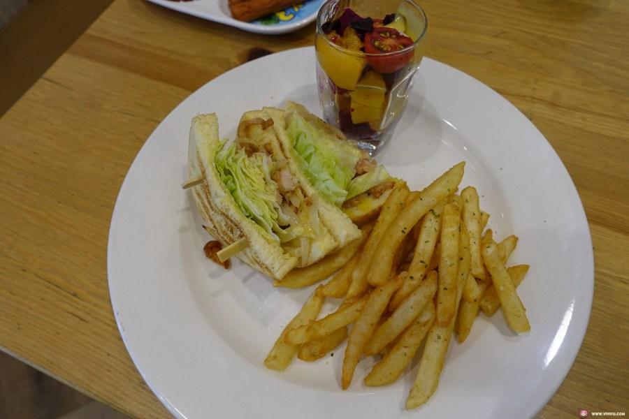 [八德美食]早耕brunch~平價早午餐餐廳.餐點種類多樣食材新鮮現點現做 @VIVIYU小世界