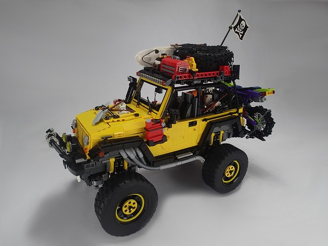 LEGO Jeep Rubicon et Power functions