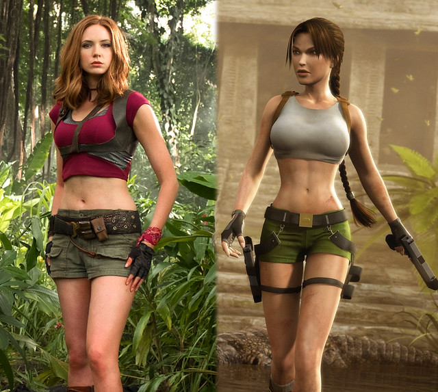 Lara-croft Jumanji