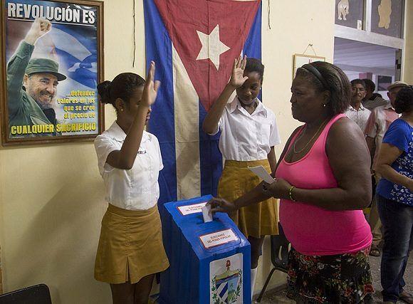 Cuba, alto comparecimento nas eleições municipais