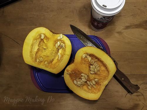 Magpie Making Do: Split Pumpkins